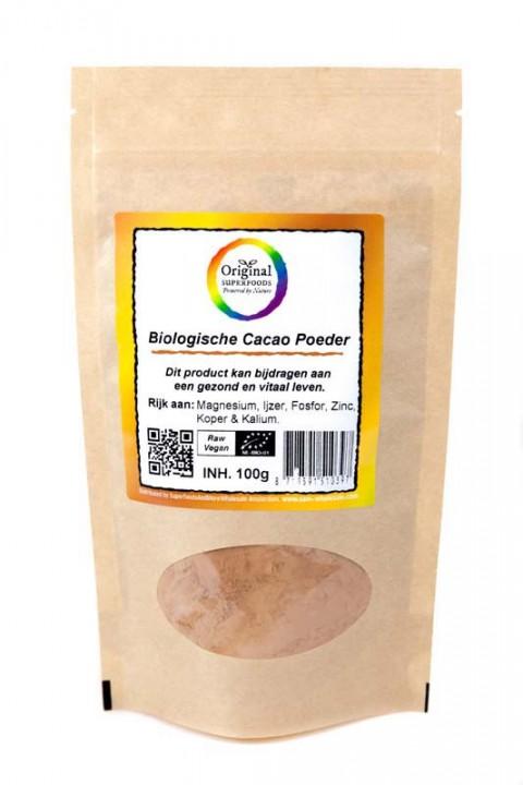 Original Superfoods Biologische Cacaopoeder 100 gram