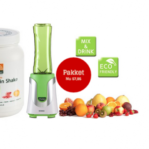 Domo blender + Absolute superfood protein vega shake gezond?