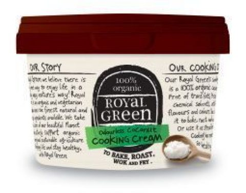 royal green kokosolie cooking cream geurloos Kopen