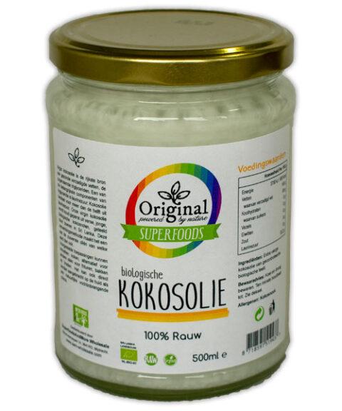 Original Superfoods Biologische Kokosolie Extra Virgin 500 ML